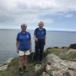Biddy and Lorie at St Davids Head