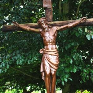 Lamb of God, Quidenham Monastery. Location: TM033878